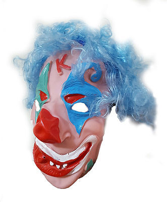 New Adult Scary Clown Latex Mask Fancy Costume Dress Halloween Prank UK Stock - Scary Clown Halloween Costumes Uk