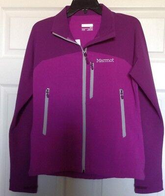 Marmot Women's Estes Soft-Shell Jacket, Color Neon Berry/Grape, SZ Med; 85580 Neon Soft Shell