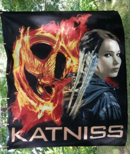 Hunger Games Katniss Fleece Blanket 50 x 60 inch