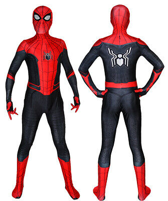 Far From Home Spiderman Costume 3D Printed Spandex Cosplay Suit For Adult/Kids](Kids Spandex Suit)