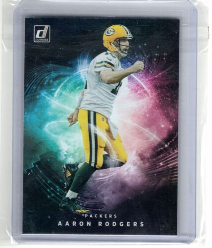 2021 Donruss Aaron Rodgers Night Moves SSP Case Hit Rare Green Bay Packers Star