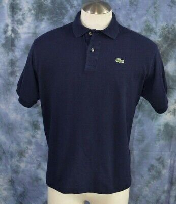 Lacoste mens Navy cotton polo shirt Made exclusively for the Borgata Sz. 7 (xxl)