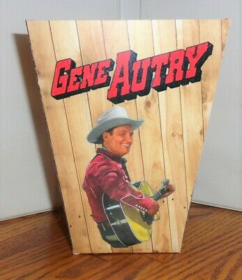 Gene Autry Popcorn Box.....free Shipping