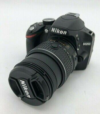 Nikon D D3200 24.2MP Digital SLR Camera - Black (Kit w/ AF-S DX ED VR G...