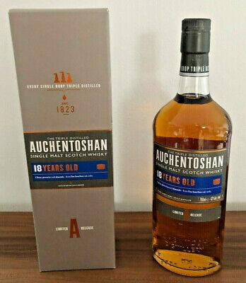 Auchentoshan 18 Jahre Single Malt Whisky OVP Umverpackung Aged Schottland TOP !!