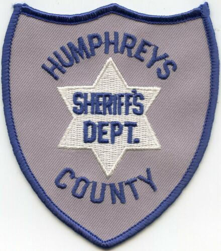 old style HUMPHREYS COUNTY MISSISSIPPI MS SHERIFF POLICE PATCH