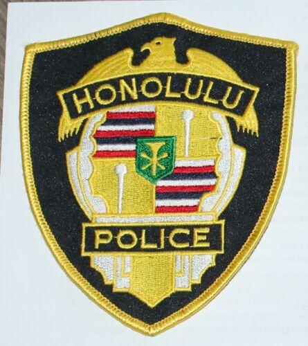 HONOLULU POLICE Hawaii Capital City PD HI patch