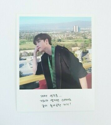 """Stray Kids BangChan Official Photocard - Official New Album """"GO生"""" / Limited Ver"""