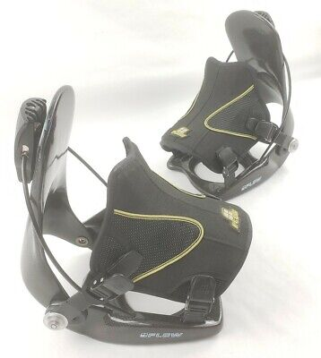 FLOW All-Mountain Rear Entry Snowboard Bindings Men's XL  Mountain Mens Snowboard Bindings