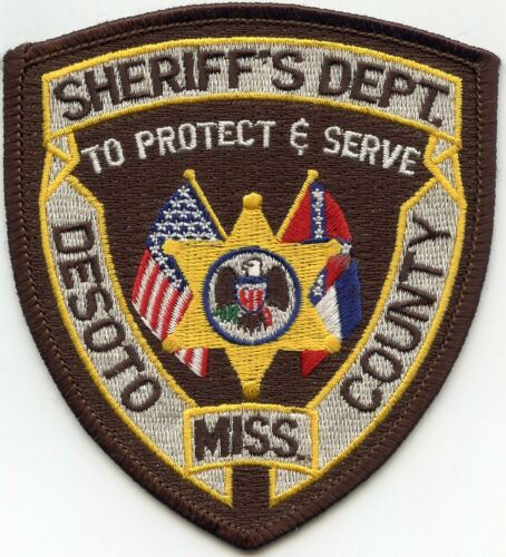 DESOTO COUNTY MISSISSIPPI MS To Protect And Serve SHERIFF POLICE PATCH