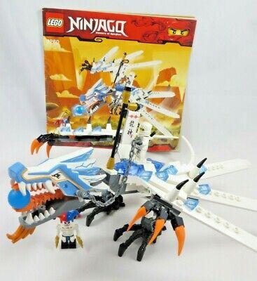 Lego Ninjago 2260 Ice Dragon Attack - Complete!