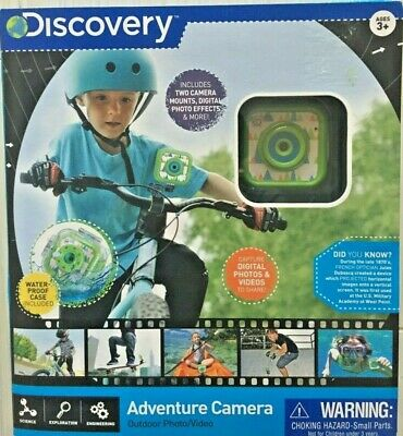 Discovery Kids Photo/Video Outdoor Adventure Camera NEW 3+ for sale  Shipping to India