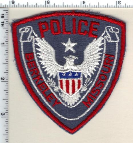 Berkeley Police (Missouri) Shoulder Patch from 1993