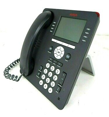 Lot Of 7 - Avaya 9608 Ip Business Phone With Stand