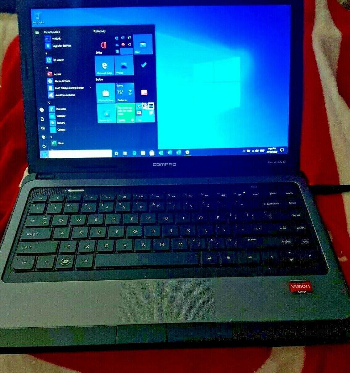 Laptop Windows - HP Compaq Laptop Windows 10 Office 2019 4GB RAM 320GB HDD Anti Virus Excelent Co
