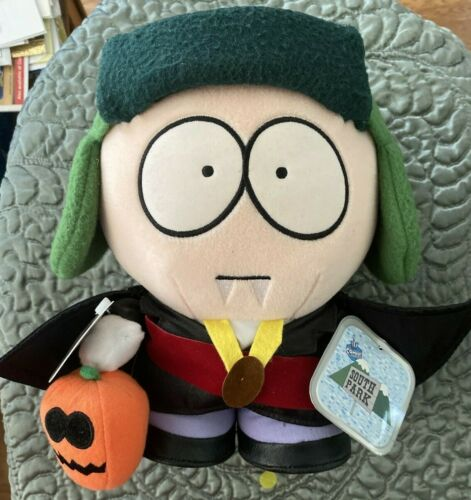 "SOUTH PARK Vampire Kyle LTD ED Version 10"" plush standing doll toy New rare tags"