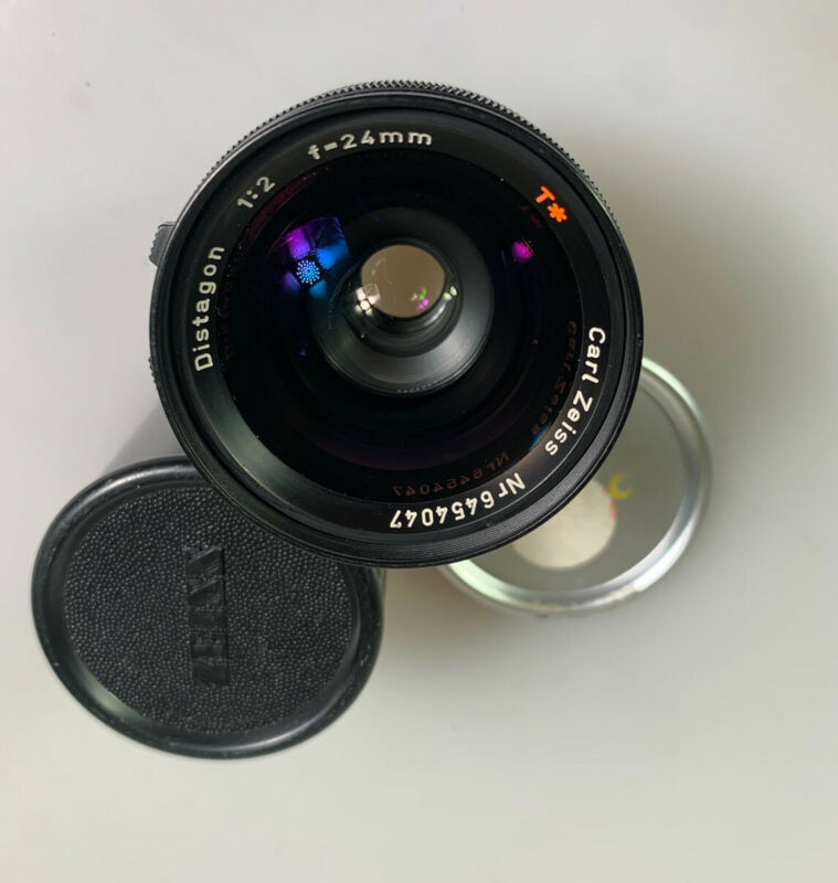 Zeiss Distagon 24mm F2 for Arri Arriflex Excellent Cinema Lens