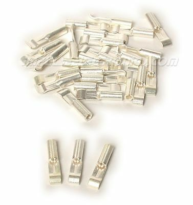 Anderson Powerpole Silver Plated 15 Amp Contacts For 14 - 20 Ga Wire 25 Pack
