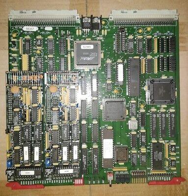 Anorad Tec Asm 68357 Tec 68356 D45877 Rev.c Pcb With 2 Encorder Multiplier Bd