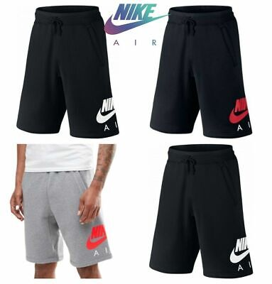 Nike Mens Shorts Air Fleece Sweat Gym Running Cotton Short Casual Pocket Size