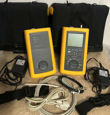 Fluke Networks Dsp-100 Cat5 Lan Digital Cablemeter Tester Excellent Condition