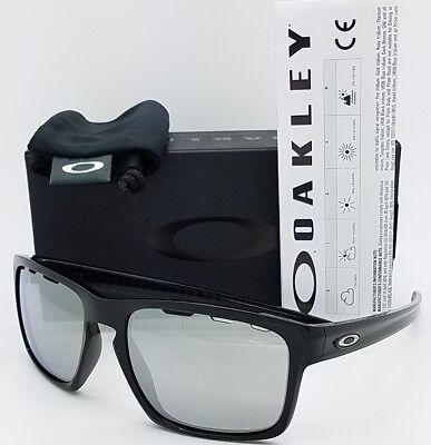 NEW Oakley Sliver Vented Sunglasses Black Chrome Iridium 9262-4257 AUTHENTIC (Vented Sunglasses)