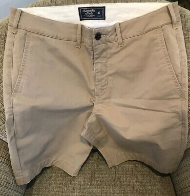 Abercrombie and Fitch Khaki Shorts sz 30  Khaki Stretch Fit Mens for sale  Columbia