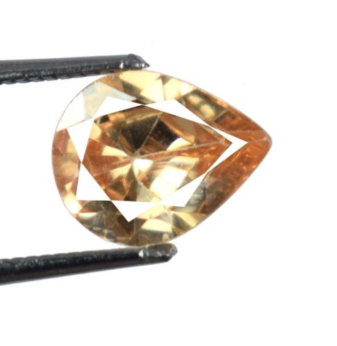 3.90 Ct Pear Pakistan Brown Axinite Ring Size Gemstone Natural Certified A15629