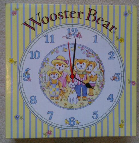 Royal+Worcester+Wooster+Bear+Clock+-+boxed+%28including+book%29