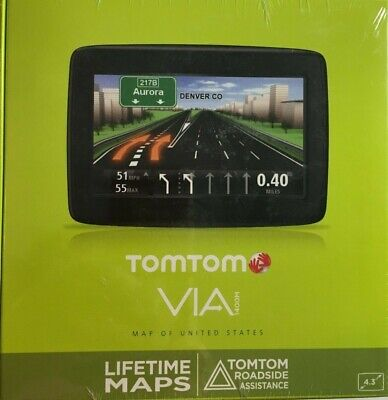 BRAND NEW-TOMTOM GPS VIA 1400M LIFETIME MAPS INCLUDED.
