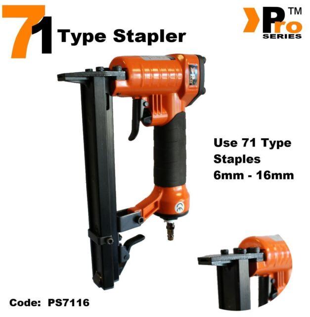 16mm - 71 Type Stapler -  Model 7116  - Air Stapler       011