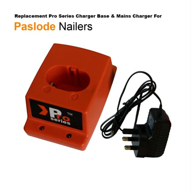 Pro Series charger set for Paslode  IM350  (1 x /mains charge/charger base) 01