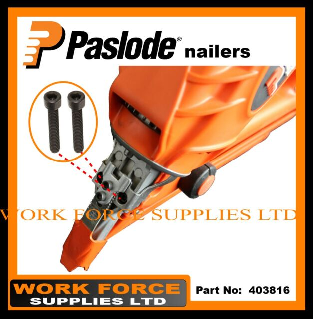 2 X Paslode Socket Head Screws - Part No. 403816  -  PASLODE IM350