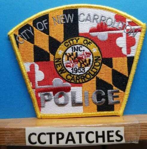 CITY OF NEW CARROLLTON, MARYLAND POLICE SHOULDER PATCH MD
