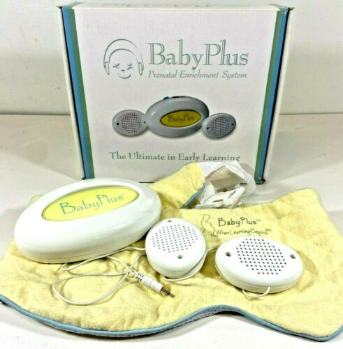 BabyPlus Prenatal Enrichment Learning System Plays Heartbeat & Music in the Womb