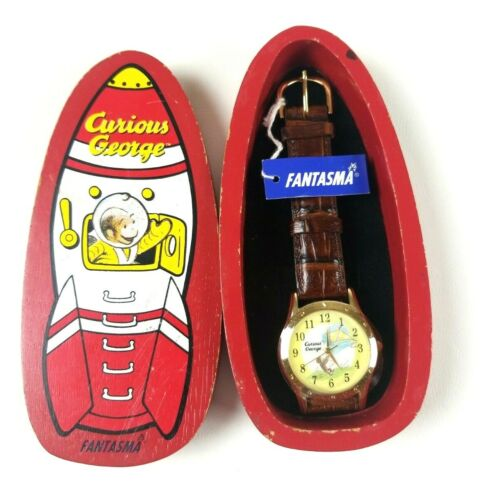 Curious George Fantasma Collectible Watch Wooden Case limited edition 5000 made