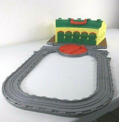 Thomas The Train Take N Play ~ Tidmouth ~ Folding Station Travel Toy Tracks Set