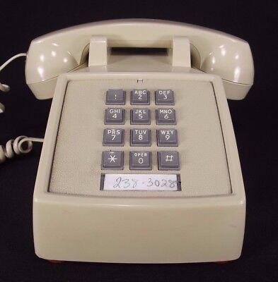 1987 vintage phone Starplus WORKS RINGER VOLUME redial TONE cream telephone ()