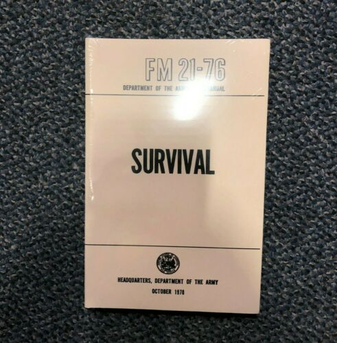 SURVIVALISTS GUIDE AND FIELD MANUAL ON OUTDOOR SURVIVAL SKILLS CAMPING HUNTING