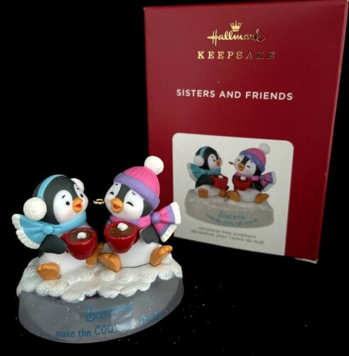 SISTERS AND FRIENDS PENGUINS 2021 Hallmark Ornament