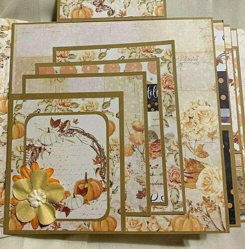 """TPHH Premade Handmade """"Autumn""""  Scrapbook Album"""