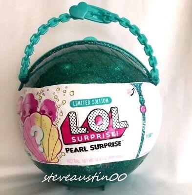 Authentic Lol Pearl Surprise Ball Mermaid Big Lil Little Sisters Doll L O L New