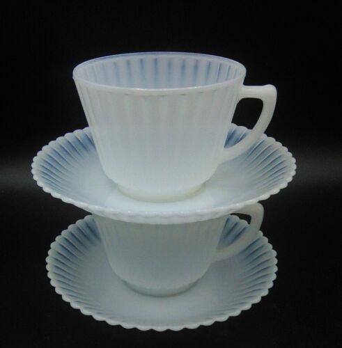 Macbeth Evan Monax Petalware Cups & Saucers 4 pcs