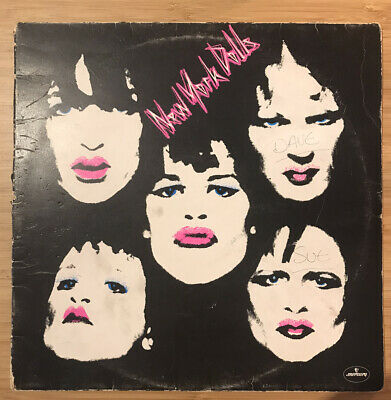 New York Dolls - Vol 1 & Vol 2 Vinyl LP Punk