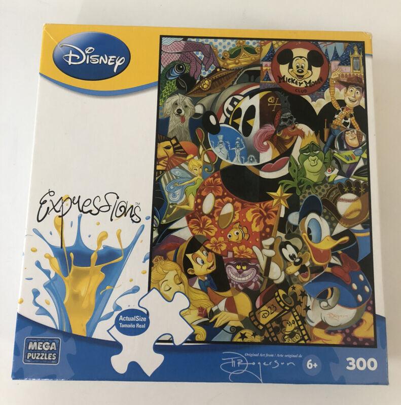 Disney Expressions Puzzle Legends by Tim Rogerson 2010 Mega 300 pcs