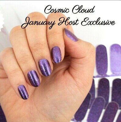 Color Street - Cosmic Cloud- Dark Purple GLITTER!! RETIRED!!