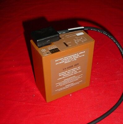 Ultralife Ubbl09 24v 9.2a Military Grade Lithium Ion Battery Wcable