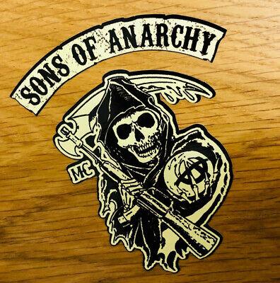 SONS OF ANARCHY Aufkleber Sticker Redwood Biker MC V8 SOA Skull 1%...
