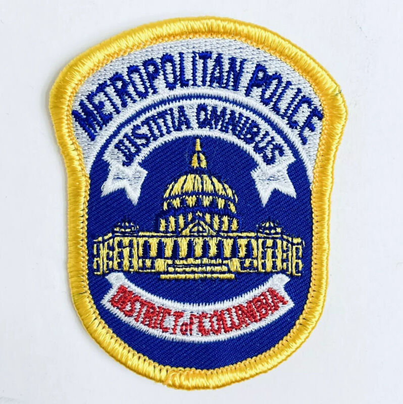 DC METROPOLITAN PATCH POLICE DISTRICT OF COLUMBIA CAPITAL BUILDING