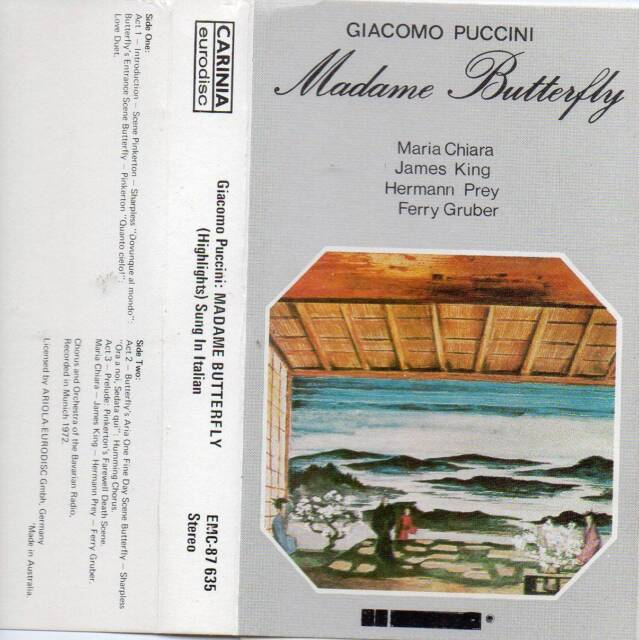 MADAME BUTTERFLY-PUCCINI'